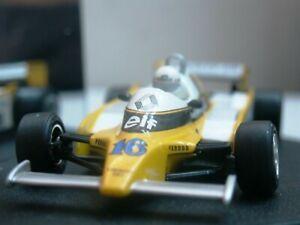 【送料無料】模型車 スポーツカー ワウルノーターボブラジルwow extremely rare renault 1980 re20 turbo arnoux brazil 143 quartzospark