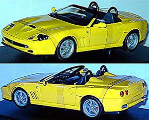 【送料無料】模型車 スポーツカー フェラーリ550 barchetta 19962001118 hotwheelsferrari 550 barchetta 19962001 yellow 118 hotwheels