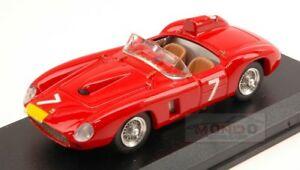 【送料無料】模型車 スポーツカー フェラーリ#ニュルブルクリンクグレゴリーモレルリレッドアートモデルアートモードferrari 290mm 7 nurburgring 1957 gregory morelli red art model 143 art216 mode