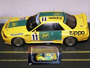 【送料無料】模型車 スポーツカー クリステンセンスカイラインレーシング143 jtc 1993 kristensen, yokoshima nissan skyline r32 gtr hpiracing