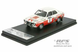 【送料無料】模型車 スポーツカー フォードエスコートロンバードラリーロジャークラークford escort rs 1600 mk i lombard rac rally 1971 roger clark 143 trofeu rruk 02