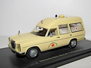 【送料無料】模型車 スポーツカー ボスメルセデスベンツビンツショーbos mercedesbenz binz w114 ambulance 143 resin bos43450 best of show