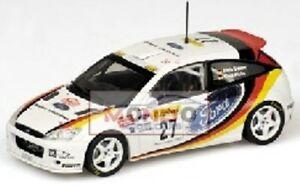 【送料無料】模型車 スポーツカー フォードフォーカスクレーメルモンテカルロモデルford focus wrc kremer monte carlo 2002 430028927 143 model
