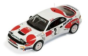 【送料無料】模型車 スポーツカー トヨタセリカグアテマラレプソルラリーモンテカルロサインツモヤ143 toyota celica gtfour repsol rally monte carlo 1992 csainz lmoya