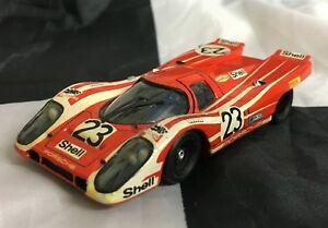 【送料無料】模型車 スポーツカー モデルポルシェルマンホワイトメタルモデルma models 143 hand built porsche 917 k le mans 24 1971 winner white metal model
