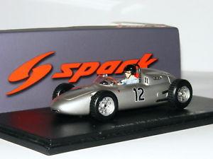 【送料無料】模型車 スポーツカー スパークポルシェダンガーニーフランス#spark s1865 porsche 718 dan gurney 1961 french gp 12 143