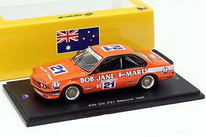 【送料無料】模型車 スポーツカー #スパークbmw 635 csi gra 21 jcecotto bathurst 1000 1985  143 spark