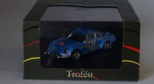 【送料無料】模型車 スポーツカー アルパインルノーモンテカルロジーンスケールtrofeu 829 alpine renault a110 monte carlo 1976 jean ragnotti 143 scale