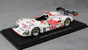 【送料無料】模型車 スポーツカー スパークポルシェルマンマティーニspark porsche twr wsc le mans 1996 alboreto martini theys s4179 143