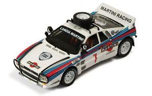 【送料無料】模型車 スポーツカー ランチアラリーマルティニレーシングサファリラリー143 lancia 037 rally martini racing  safari rally 1984 malen