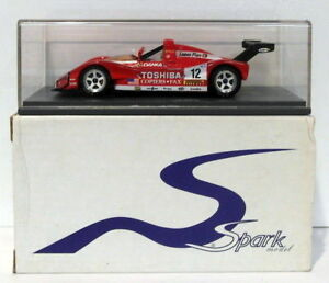 【送料無料】模型車 スポーツカー スパークモデルスケール#spark models 143 scale resin scfi06 f333 sp toshiba 12 lm 1998