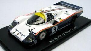 【送料無料】模型車 スポーツカー ポルシェ#ルマンヘイウッドスパークporsche 956l 3 winner le mans 1983 holbert haywood schuppan spark 143 43lm83 m