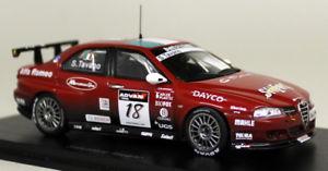【送料無料】模型車 スポーツカー スパークスケールアルファロメオ#モデルカーspark 143 scale s0478 alfa romeo 156 18 wtcc 2006 s tavano resin model car