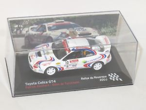【送料無料】模型車 スポーツカー トヨタセリカグアテマララリーデュフランス143 toyota celica gtfour  rallye du rouerque france 2008 prouillard