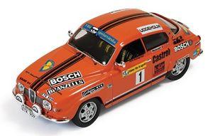 【送料無料】模型車 スポーツカー サーブラリースウェーデン143 saab 96 v4  rally sweden 1975 sblomqvist hsylvan