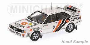 【送料無料】模型車 スポーツカー アウディクワトロクラリオンラリースウェーデン143 audi quattro a2 clarion rally sweden 1984 per eklund
