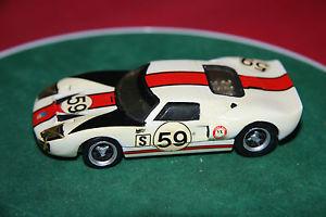 【送料無料】模型車 スポーツカー グランプリモデル#フォードルマンホワイトメタルモデルhand built 143 grand prix models 59 ford gt40 le mans 1966 white metal model
