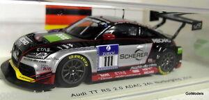 【送料無料】模型車 スポーツカー スパークスケールアウディニュルブルクリンクモデルカーspark 143 scale sg139 audi tt rs 20 adac 24h nurburgring 2014 resin model car
