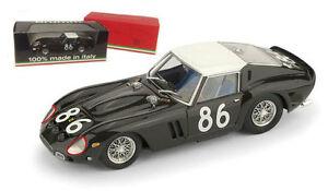 【送料無料】模型車 スポーツカー フェラーリグアテマラ#タルガフロリオスケールbrumm r535 ferrari 250 gto 3451gt 86 targa florio 1962 143 scale