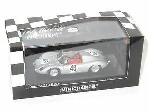 【送料無料】模型車 スポーツカー ポルシェセブリング#ヒル143 porsche 718 rs60  sebring 12 hrs 1960 43 ghill jbonnier