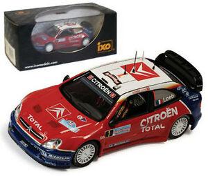 【送料無料】模型車 スポーツカー ネットワークシトロエンクサライタリアラリーローブスケールixo ram191 citroen xsara wrc italian rally 2005 s loeb 143 scale