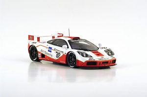 【送料無料】模型車 スポーツカー スパークマクラーレンルマンニールセンs4405 spark 143mclaren f1 gtr n30 4th le mans 1996 j nielsen bscher p kox