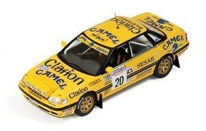【送料無料】模型車 スポーツカー スバルレガシィキャメルロンバードラリー143 subaru legacy rs camel lombard rac rally 1992 peklund