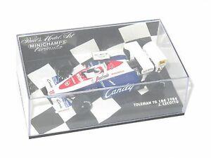 【送料無料】模型車 スポーツカー 143toleman tg 184キャンディー1984シーズンjcecotto143 toleman tg 184 candy 1984 season jcecotto