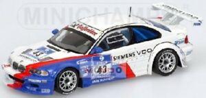 【送料無料】模型車 スポーツカー bmw m3 gtrラミーダイカストニュルブルクリンク2004 400042343 143モデル