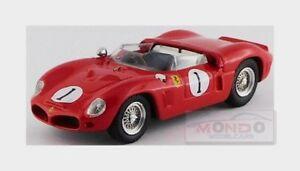 【送料無料】模型車 スポーツカー フェラーリ#デイトナヒルロドリゲスレッドアートモデルアートメートルferrari 246 sp 1 2nd 3h daytona 1962 hill rodriguez red art model 143 art371 m