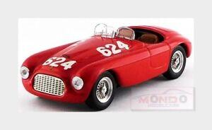【送料無料】模型車 スポーツカー フェラーリバルケッタ#ミッレミリアアートアートferrari 166 mm barchetta 624 winmille miglia 1949 biondetti art 143 art0082