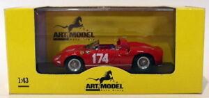 【送料無料】模型車 スポーツカー アートモデルスケールアートフェラーリタルガフロリオart model 143 scale art129 ferrari 250 p targa florio 1963 surteesparkes