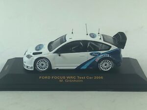 【送料無料】模型車 スポーツカー fordrs wrc 2006グロンホルムbfグッドリッチrar ixo 143テストford focus rs wrc 2006 test testcar grnholm bf goodrich rar ixo 143