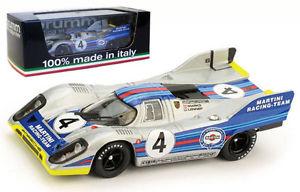 【送料無料】模型車 スポーツカー brumm r252bポルシェ917k41000kmモンツァ1971 マルコヴァンレネップ143brumm r252b porsche 917k 4 1000km monza 1971 markovan lennep 143 scale