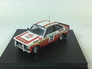 【送料無料】模型車 スポーツカー trofeu 1020フォードエスコートmk iiポルトガル1981m143trofeu 1020 ford escort mk ii portugal rally 1981 m silva 143 scale