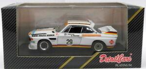 【送料無料】模型車 スポーツカー スケールモデルカーアートモンツァdetail cars 143 scale model car art435 bmw 3000 cs 1971 4hr monza