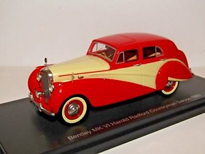 【送料無料】模型車 スポーツカー bos bentley mk vi harold radford saloon1951143resin bos43485 best of showbos bentley mk vi harold radford saloon 1951 143