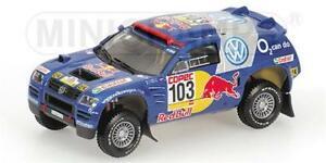 【送料無料】模型車 スポーツカー トアレグサビーラリーモデルvw race touareg saby winners rally 2005 436055303 143 model