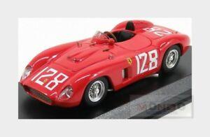 【送料無料】模型車 スポーツカー フェラーリ#ロードレースシェルビーアートアートferrari 500 tr 128 winner tyddyn road races 1956 carrol shelby art 143 art380