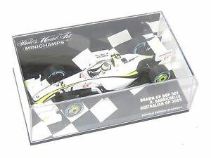 【送料無料】模型車 スポーツカー ブラウンシーズンオーストラリアバリチェロ143 brawn gp bgp001  2009 season australian gp 2009 rbarrichello