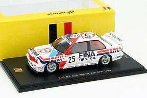 【送料無料】模型車 スポーツカー スパスパークbmw m3 e30 25 jcecotto winner 24h spa 1990 143 spark