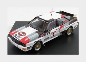 【送料無料】模型車 スポーツカー アウディquattro11983jbuffum trofeu 143 trfbbr01モードaudi quattro 1 winner rally pikes peak 1983 jbuffum trofeu 143 trfbbr01 mode