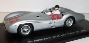 【送料無料】模型車 スポーツカー スパークスケールメルセデスベンツ#フランスspark 143 scale s1037 mercedes benz w196 22 french gp 1954 hermann