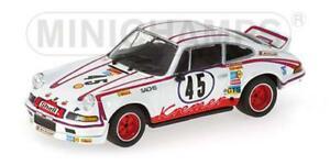 【送料無料】模型車 スポーツカー ポルシェカレラルマンモデルporsche 911 carrera rsr 28 le mans 1973 143 430736945 model