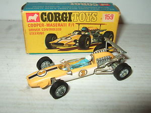 【送料無料】模型車 スポーツカー オリジナルコルギオリジナルコルギ159クーパーマセラッティf1モデルrare original corgi 159 coopermaserati f1 model in original corgi box
