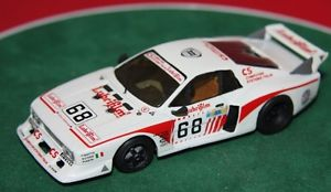 【送料無料】模型車 スポーツカー hand built 143white metal amr bam68lancia beta montecarlo turbo le mans 1981hand built 143 white metal amr bam 68 lancia b