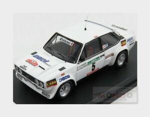 【送料無料】模型車 スポーツカー fiat 131 abarth5 4thラリーポルトガル1977jcandruet trofeu 143 trral48モデルfiat 131 abarth 5 4th rally portugal 1977 jcandruet trofeu