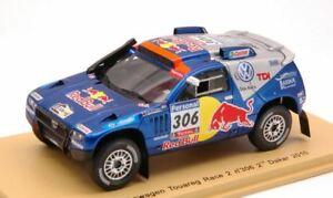 【送料無料】模型車 スポーツカー フォルクスワーゲントゥアレグレース2306 2ndダカール2010スパーク143 s0827モデルvolkswagen touareg race 2 red bull 306 2nd dakar 2010 spark 143 s0827 mod