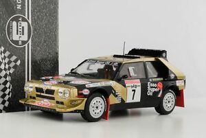【送料無料】模型車 スポーツカー ランチアデルタラリーサンレモ#トリプルlancia delta hf integrale rally san remo 7 tabaton esso 1986 118 triple9 diec