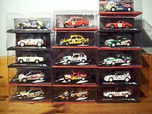 【送料無料】模型車 スポーツカー ラリーカーアバルトアルファフィアットランチアシートポルシェトヨタa choice of various 143 rally cars abarthalfafiatlanciaseatporschetoyota